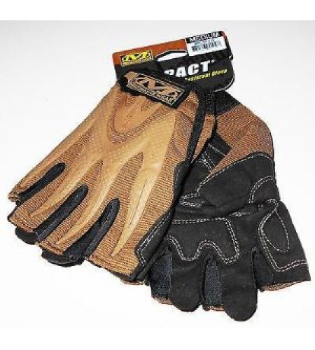 Перчатки Mechanix M-Pact Fingerless Tan