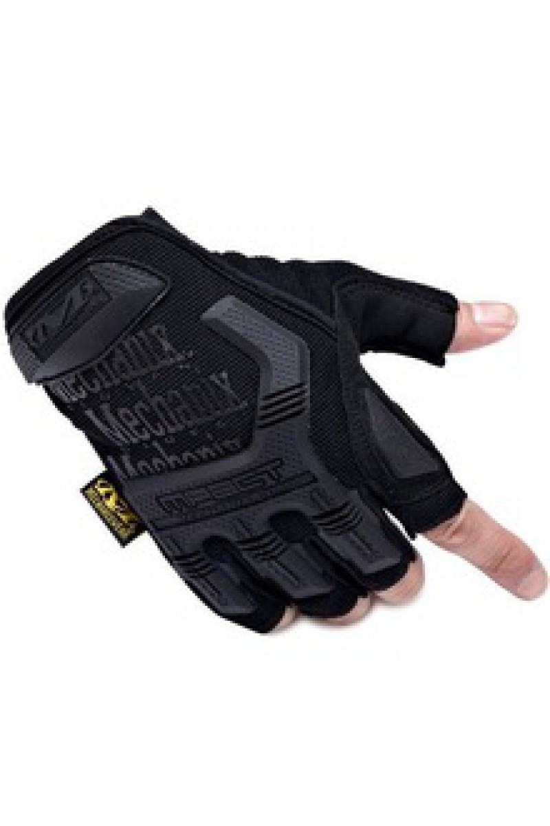 Перчатки Mechanix M-Pact Fingerless Black